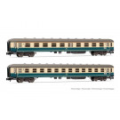 DB, 2-unit set 1st class & 2nd class, Am208 & Bm233, blue/beige livery