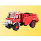 H0 Feuerwehr UNIMOG Waldbrand