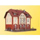 H0 Eisenbahner Wohnhaus mit N