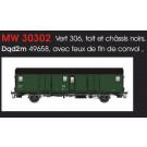 FOURGON METALLISE EX MIDI SNCF - FEUX DE FIN DE CONVOI/IIIcd