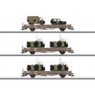 Niederbordwagenset DSB