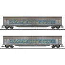 Coffret de wagons à parois coulissantes Transwaggon