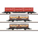 Wagen-Set Containertragwagen, Ep. IV/V - automne20