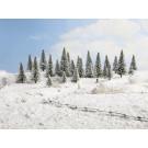 10 Sapins de neige