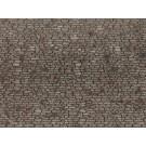 Feuille structurée 3D « Mur de moellon » , 28 x 10 cm
