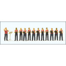 chorale d'hommes, 12 figurines
