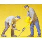 2 ouvriers de voie + outils speciau