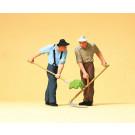 fermier avec outils