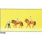 à l'école d'equitation