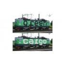 Set: 2x E-Lok Rc4 Green Cargo