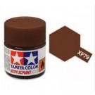 XF79 brun linoleum - mat -  Tamiya - peinture acrylique 10 ml