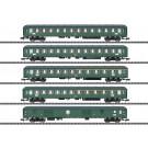 Schnellzugwagen-Set D 360 DB