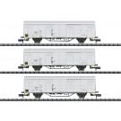 Güterwagen-Set Ibblps, DR,  Ep.IV