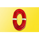 Hochstromkabel 0,75 mm², 10 m, rot