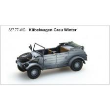 Kübelwagen VW82 Grau, Winter