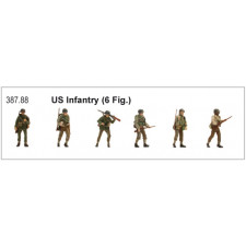 US Infantry ( 6 Fig )