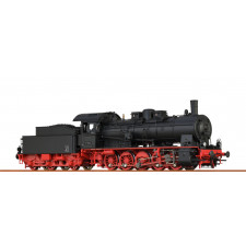 H0 Steam Loco 57.10 DB, III, DC An BAS+