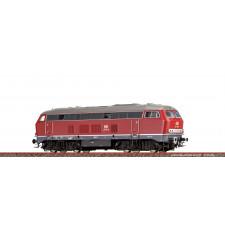 H0 Diesel Locomotive 216 DB, IV, DC Dig.