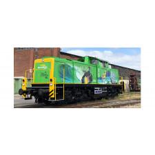 H0 Diesel Loco 291 DB, V, AC Dig EXTRA