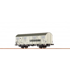 H0 Freight Car Gbs 245 DB, IV, Liebherr