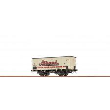 H0 Freight Car ZB DSB, III, Albani