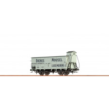 H0 Freight Car G10 CFL, III, Mousel Bieres