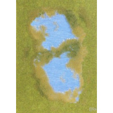 Lacs avec rives