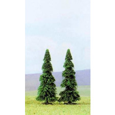 Lot de 2 sapins  110mm