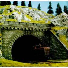 Entrée de tunnel 2  voies