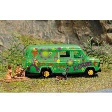 Mini scène ''naturisme au camping''