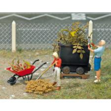 Scénette de jardiniers