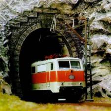 Entrée de tunnel electrique n