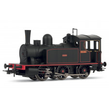 Spanish 030 steam locomotive  Caldas  in new livery