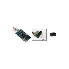 LokSound 5 DCC/MM/SX/M4 -Leerdecoder-, 6-pin NEM651, Retail, mit La