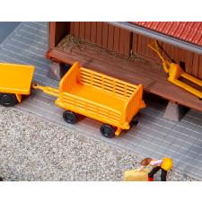Chariots quai orange 2pcs