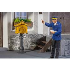 POLA Boîte aux lettres avec colonne sur pied