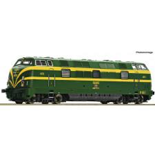 Diesellok D.340 grün/gelb