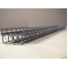 Kasten-Unterzugbrücke 60cm zweigl., grau - Typ KN60-2