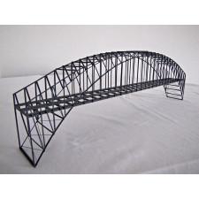BN50-2 - Bogenbrücke 50 cm zweigleisig, grau