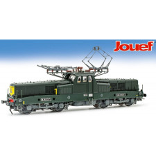 SNCF, loco BB 13000 in green/yellow  , BB 13041, period IV