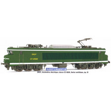 SNCF, loco CC 6550 in green/yellow  , period IV