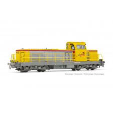 SNCF Infra, loc diesel BB 669126, livrée jaune, ép. VI,Sound