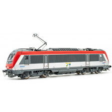 SNCF,  electric  BB 36005, red livery  Charleroi / Hirson , period V,