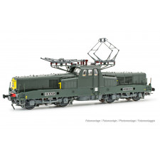 SNCF, loc elec BB 13020, 2ème type avant, livrée vert, ép. III-IV,Soun