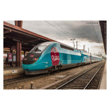 SNCF, set de 4 unités, TGV Duplex OuiGo, composé de loc motorisé, loc