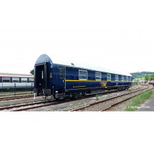SNCF, sleeping car type T2 in yellow TEN-livery,  80 years of SNCF , p