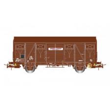 SNCF, wagon couvert à deux essieux du type Gss 4.01 Bagages Express