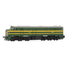 RENFE, diesel locomotive class 316, gree, epoche III