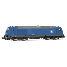Press, BR 285.1, diesel locomotive, blue livery