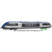 SNCF, X 73505 diesel railcar, TER- , period V-VI
